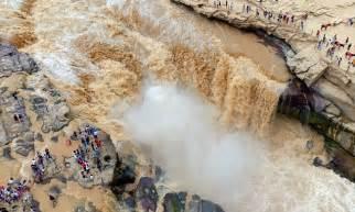 Hukou Waterfall Daily Mail