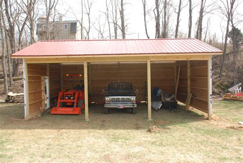 how to build pole shed building a pole barn tractor sheds building a pole