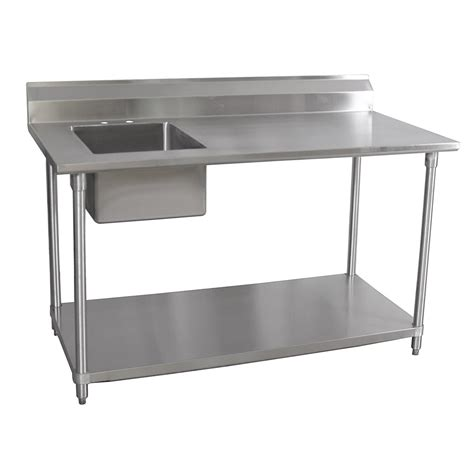 small stainless steel kitchen table furnitures awesome stainless steel prep table for kitchen