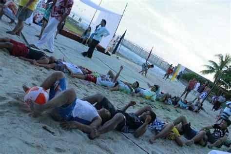 Beach Ball Team Building Games