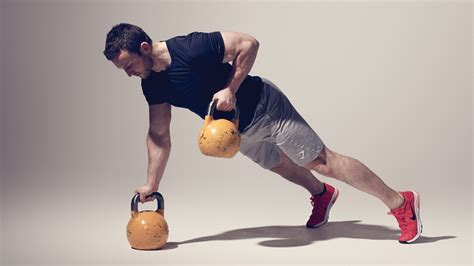 kettlebell ladder workout challenge minute row workouts coachmag