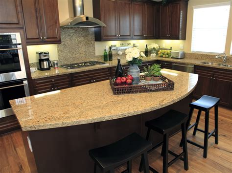 granite island kitchen 81 custom kitchen island ideas beautiful designs