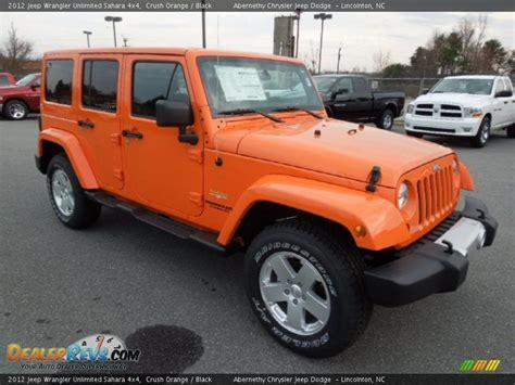 jeep wrangler orange 2017 crush orange 2012 jeep wrangler unlimited sahara 4x4 photo