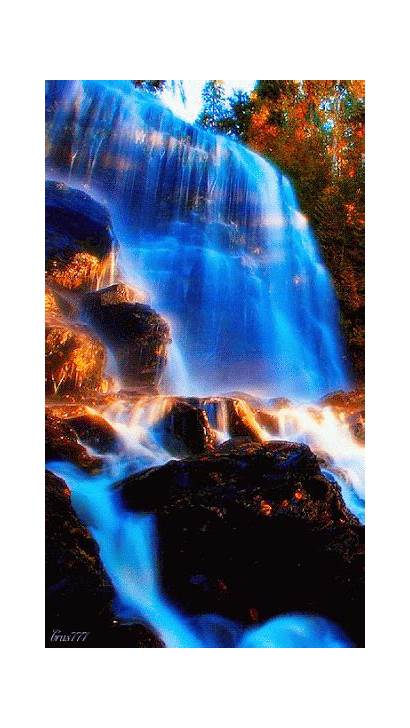 Gifs Moving Waterfalls Nature Landscapes Celestial Cool