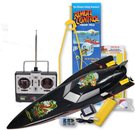 Real Rc Fishing Boat by Ed Hardy Remote Fishing Boat Catch S Real Fish