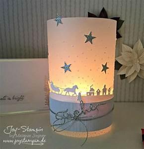 Teelichter Basteln Mit Kindern : weihnachtliches windlicht stampin up joy stampin ~ Markanthonyermac.com Haus und Dekorationen
