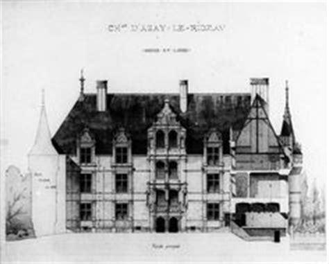 chateau d azay le rideau plan of first floor