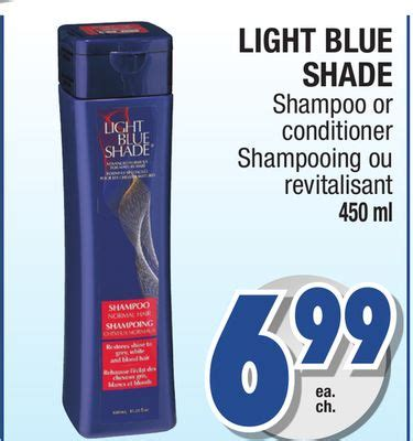 light blue shade conditioner light blue shade shoo or on salewhale ca