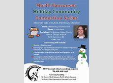 North Van Holiday Community Connection Series – Cerebral
