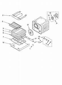 Kitchenaid Kebc208kbl02 Electric Wall Oven Parts