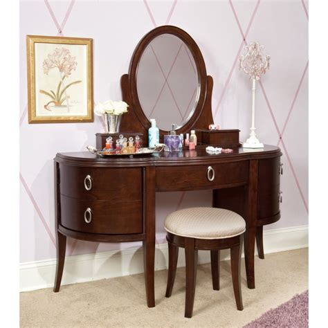 Bedroom Antique Bedroom Vanity With Storage Completing