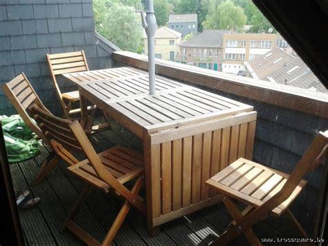 chaises jardin ikea table de jardin en acacia massif 4 chaises ikea uccle
