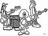 Coloring Rock Band Roll Colorear Musica Kiss Printable Banda Dibujos Bandas Colorir Desenho Pintar Ausmalbilder Coloriage Rockband Proben Beim Colorare sketch template