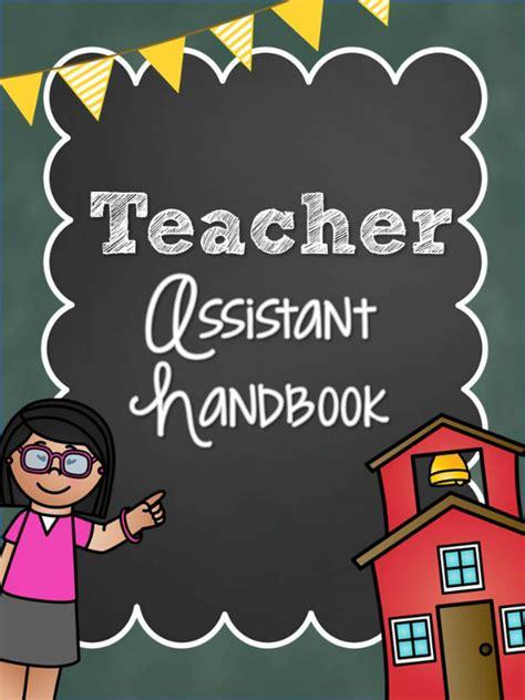 staff handbook for preschool teachers assistant packet pre k pages 673