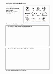 Simple Circuit Diagram Worksheets