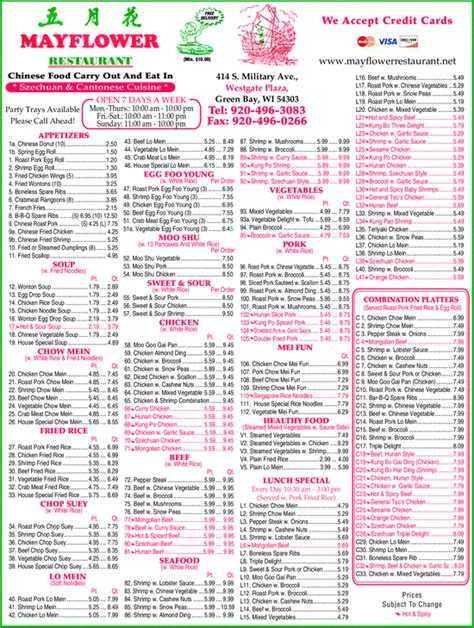 china kitchen menu green bay yellowbook the local yellow pages directory 8203