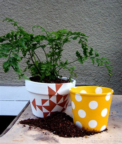 pot plant design idea interesting hobby flower pot painting ideas 40 exles hobby lesson