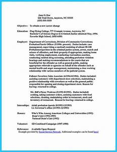perfect correctional officer resume to get noticed With correctional officer resume