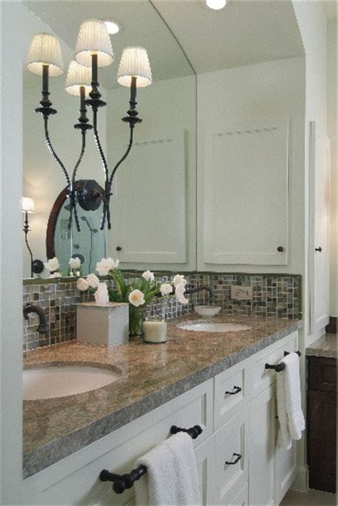 How To Make A Small Bathroom Appear Larger by Sound Finish Cabinet Painting Refinishing Seattle How