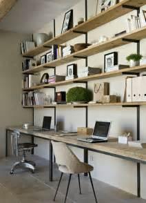 Bureau Bois Brut Et Acier by Diy Un Bureau Industriel Tout Simple En Bois Brut Et