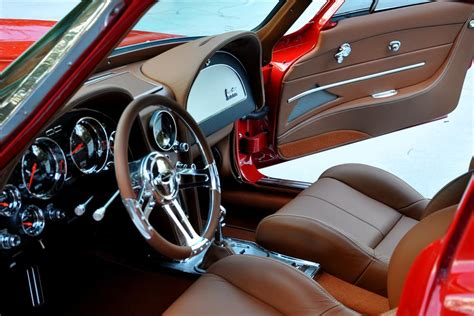 chevrolet corvette custom split window coupe