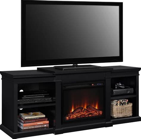 70 tv stand with fireplace electric fireplace tv stands fireplaces home living room