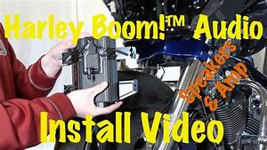 Install Harley Davidson Boom Audio Stage 1 Or 2 Front