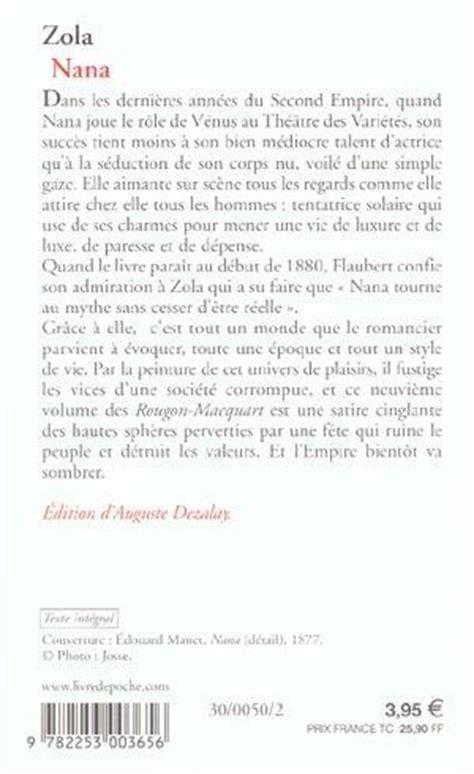 Germinal Resume Chapitres by Livre Nana 201 Mile Zola