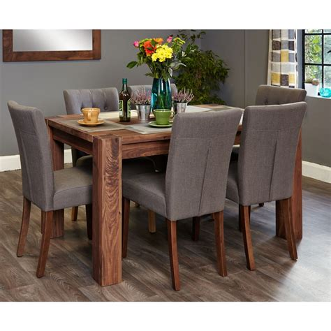 strathmore solid walnut furniture medium dining table and