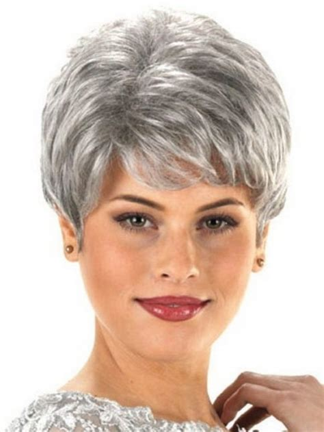 short haircuts  older women   faces
