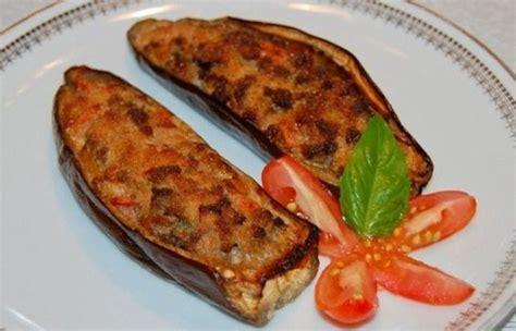 aubergines farcies  la viande hachee ww aubergines