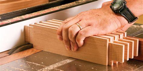 cut tenons   tablesaw   dado set