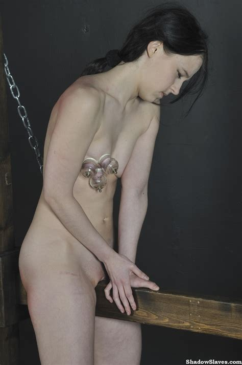Kamis Wooden Horse Device Bondage And Torture To Tears Of