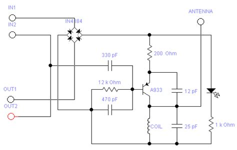 Schematics How Implement Out Connections