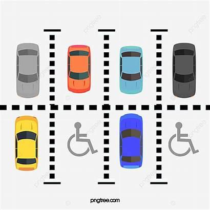 Parking Lot Cartoon Lovely Estacionamiento Plan Clipart