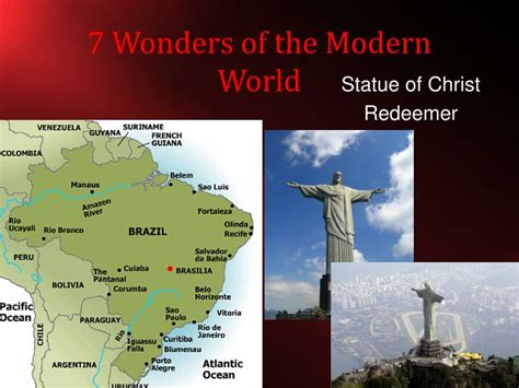 7 wonders of the modern world ppt chapter 1 powerpoint presentation id 3743906