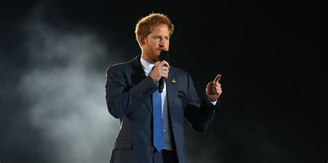 Prince Harry's Speech At The Opening Ceremony Of The