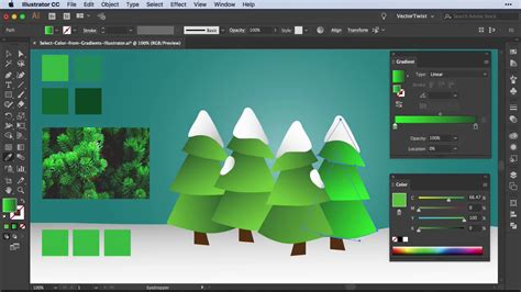 how to change gradient color in illustrator gradient tool how to change colors in gradients adobe