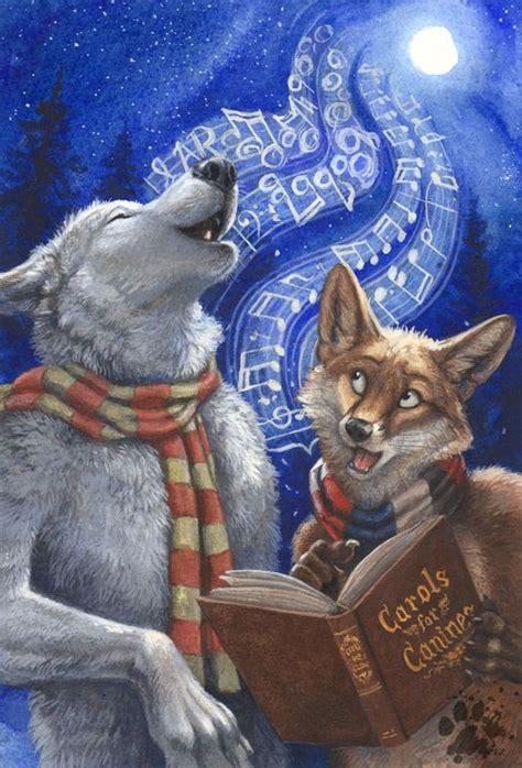 carols  canines furry drawing art anthro furry