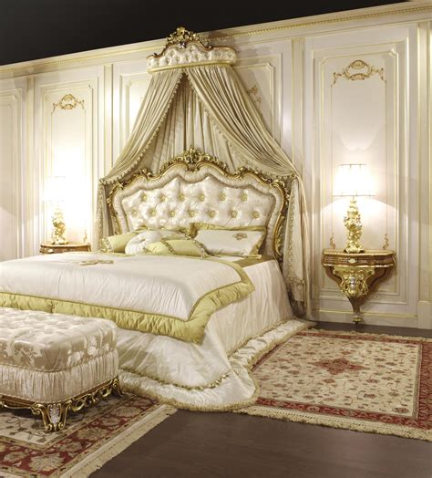 letto classico  stile barocco art  vimercati meda