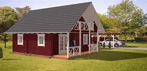 Holz Scheune Bausatz : ferienhaus tuomi im blockhaus stil dr jeschke holzbau ~ Whattoseeinmadrid.com Haus und Dekorationen