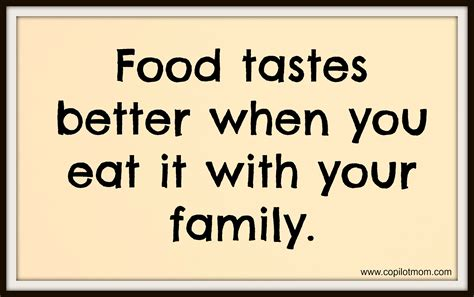 Captains' Quotes Food