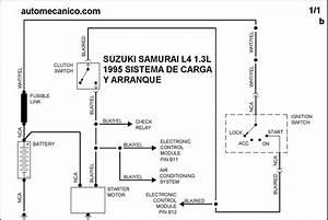 Susuki Diagramas Sistema De Carga Y Arranque 2005 Esteem
