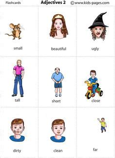 adjectives images english vocabulary learn