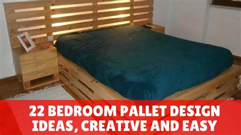 bedroom pallet design ideas creative  easy youtube