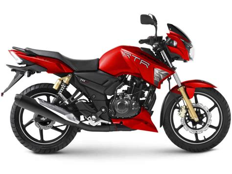 Tvs Apache Rtr Series Gets New Matte Red Colour