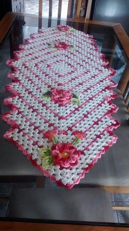 table runner pattern request crochet pinterest table