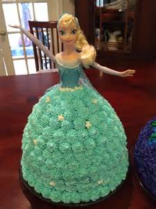 Elsa From Frozen Birthday Cake