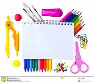 School supplies stock photo. Image of elementary, isolated ...