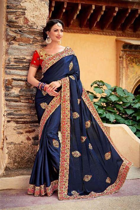 indian wedding saree designs trends 2018 2019 indian bridal saree designs trends 2018 2019
